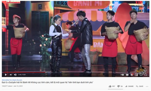 Tháng 1/2021, Đạt G và Du Uyên vẫn rất tình cảm trên sóng truyền hình nhưng hoá ra đã toang từ lâu? - Ảnh 4.