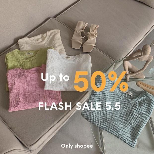 """Loạt shop thời trang rần rần sale 5/5: Giảm đến 50%, chị em nhanh """"chốt đơn"""" đồ hè xinh xẻo giá hời - Ảnh 5."""
