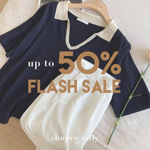 """Loạt shop thời trang rần rần sale 5/5: Giảm đến 50%, chị em nhanh """"chốt đơn"""" đồ hè xinh xẻo giá hời - Ảnh 3."""