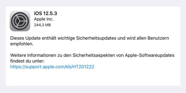 iPhone 5s vẫn chưa bị Apple bỏ rơi, tiếp tục được cập nhật iOS mới - Ảnh 1.