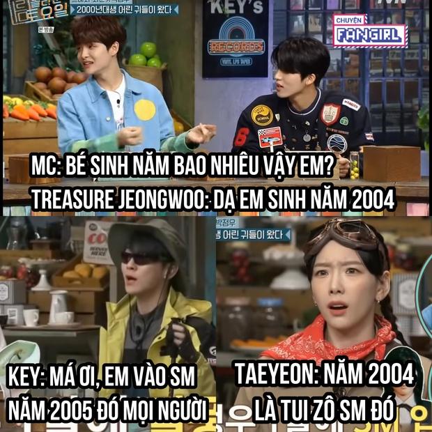 Khoảng cách thế hệ tàn nhẫn: Những Gen Z sinh vào năm Taeyeon (SNSD) gia nhập SM giờ đã debut thành idol hết rồi! - Ảnh 1.