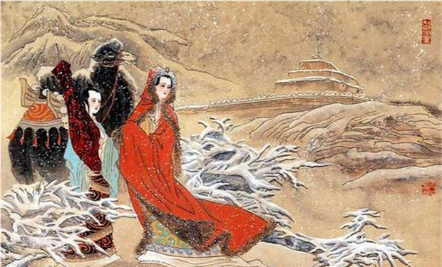 Dung mạo Vương Chiêu Quân được các chuyên gia phục hồi nguyên gốc, cư dân mạng không dám tin vào mắt mình - Ảnh 4.