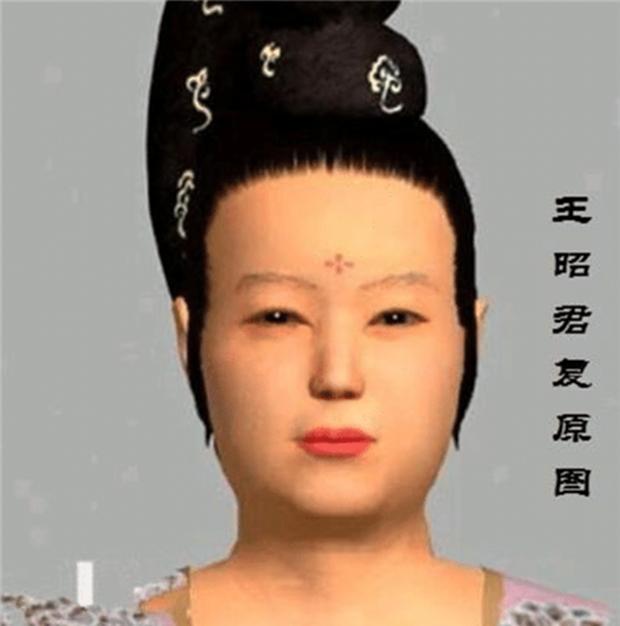 Dung mạo Vương Chiêu Quân được các chuyên gia phục hồi nguyên gốc, cư dân mạng không dám tin vào mắt mình - Ảnh 5.