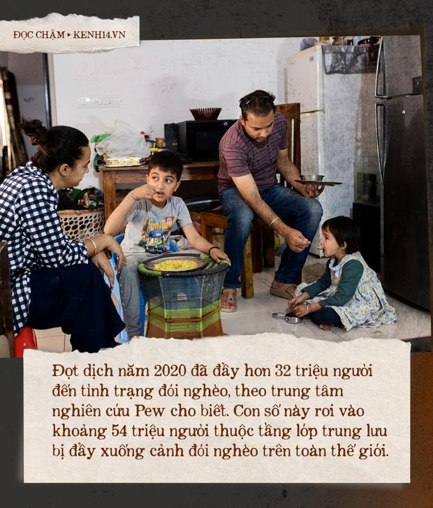 Bên bờ vực nghèo đói: Giới trung lưu Ấn Độ chìm trong sự cùng cực vì đại dịch - Ảnh 1.