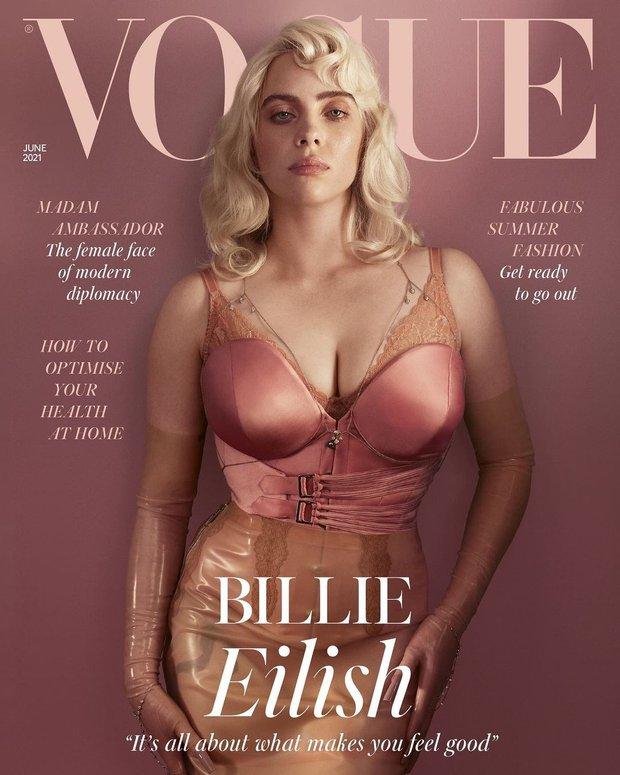 Lần đầu có mỹ nhân đi vào lịch sử chỉ vì... bung xõa sexy như Billie Eilish: Đạt luôn 100 triệu like chỉ với 8 bức ảnh bốc lửa - Ảnh 3.