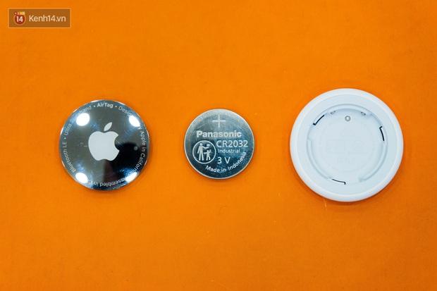 Trên tay AirTag đầu tiên tại Việt Nam: Thông minh, nhỏ gọn nhưng dễ trầy, giá bán 900 nghìn đồng - Ảnh 5.