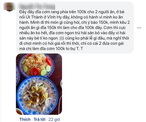 Sốc trước màn chém đẹp thực khách tại quán ăn ở Vĩnh Hy: Dĩa cơm chiên hải sản 100k nhưng tìm đỏ mắt không thấy thịt đâu? - Ảnh 3.