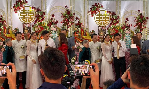 Đám cưới Hồ Bích Trâm ở Quảng Ngãi: Hé lộ chân dung chú rể, đeo vàng nặng cả cổ, lên tiếng chuyện đãi tiệc giữa mùa dịch - Ảnh 4.