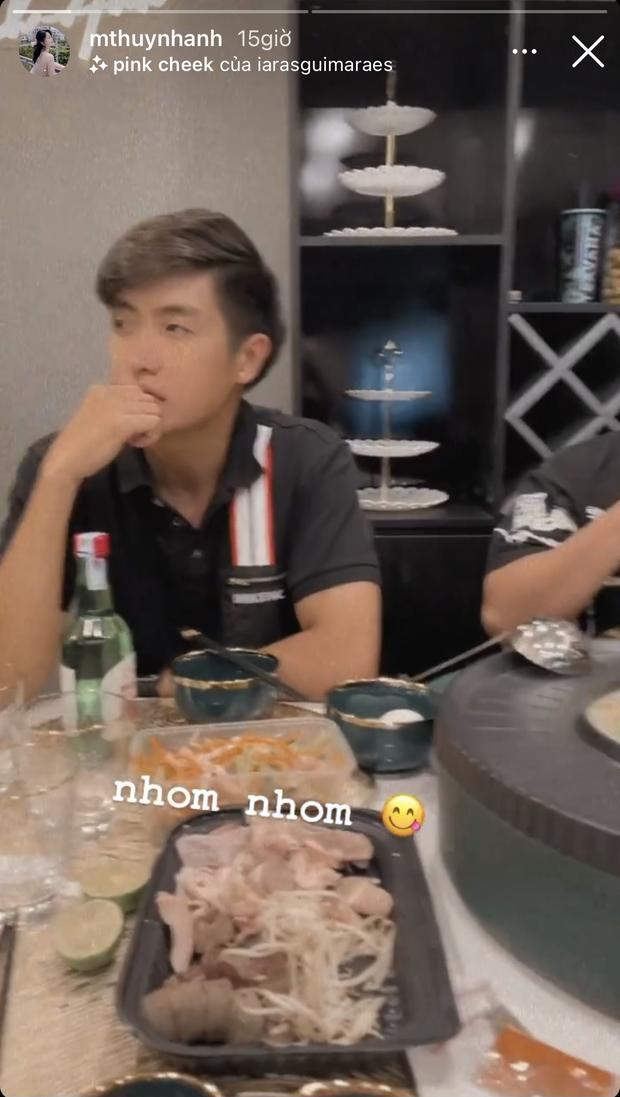 Huỳnh Anh bất ngờ hội ngộ cùng tình tin đồn 2k của Huỳnh Phương thế nhưng nhân vật gây chú ý lại là một chàng trai khác - Ảnh 5.