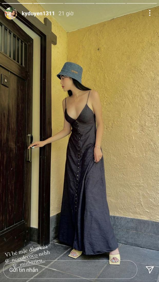 HH Kỳ Duyên mới đổi kiểu váy hai dây: Diện lên hình sống ảo xinh ngây ngất và còn tiết lộ luôn chỗ mua - Ảnh 3.