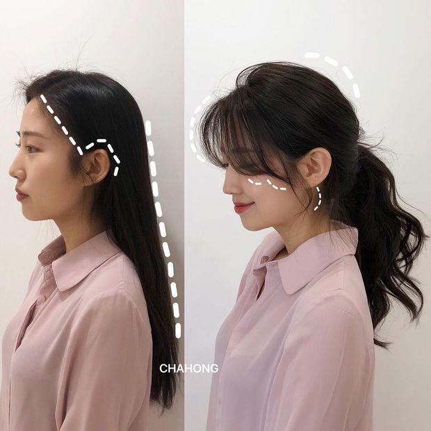 Gái Hàn có một chiêu vuốt tóc mái rất hay, buộc theo kiểu nào cũng sang như tiểu thư trâm anh - Ảnh 3.