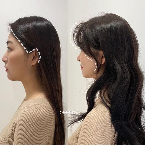 Gái Hàn có một chiêu vuốt tóc mái rất hay, buộc theo kiểu nào cũng sang như tiểu thư trâm anh - Ảnh 4.