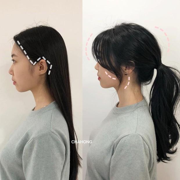 Gái Hàn có một chiêu vuốt tóc mái rất hay, buộc theo kiểu nào cũng sang như tiểu thư trâm anh - Ảnh 5.