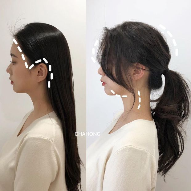 Gái Hàn có một chiêu vuốt tóc mái rất hay, buộc theo kiểu nào cũng sang như tiểu thư trâm anh - Ảnh 7.