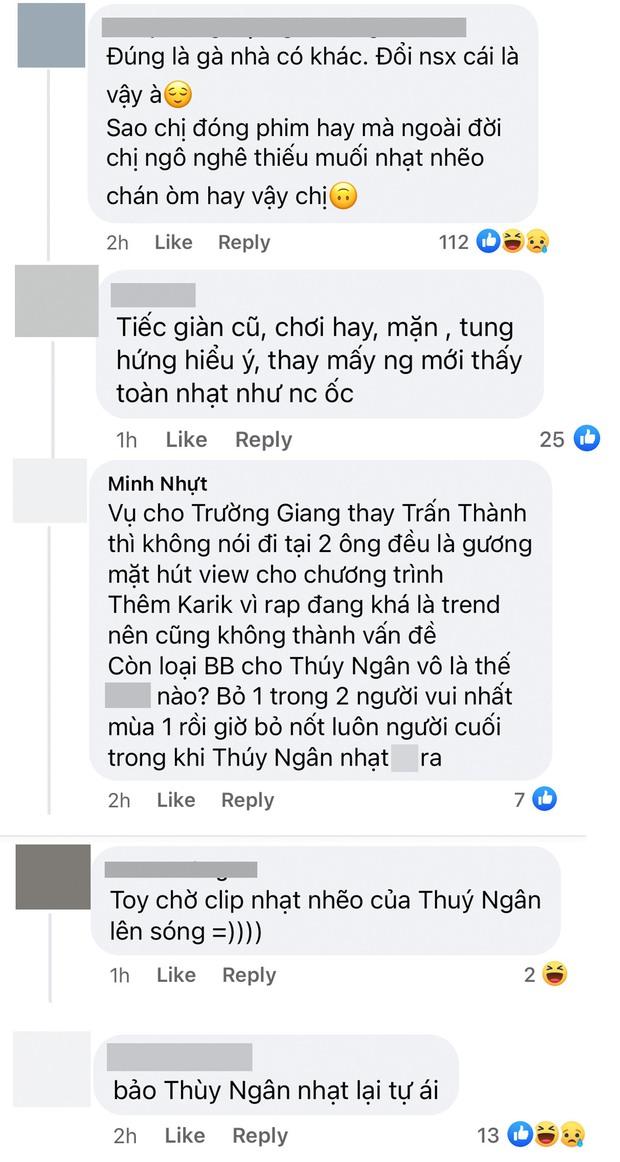 Thuý Ngân vừa xác nhận tham gia Running Man Việt, netizen thẳng thừng chê nhạt - Ảnh 3.