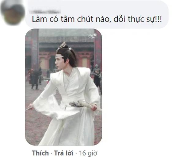 Fan khóc thét với tượng sáp Lam Vong Cơ (Vương Nhất Bác) như ông chú trung niên, nhìn còn hao hao Dạ Hoa nữa cơ! - Ảnh 5.