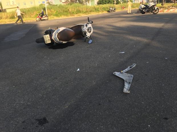 Xe máy va chạm kinh hoàng với ô tô, người đàn ông chết thảm - Ảnh 3.
