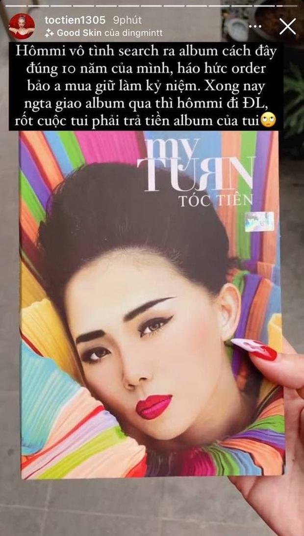 Hoàng Touliver hí hửng đặt mua album 10 năm trước của vợ làm kỷ niệm, cái kết thế nào mà Tóc Tiên phải lên mạng bóc phốt? - Ảnh 2.