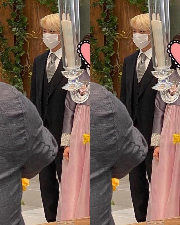 Đám cưới chị gái J-Hope: Dàn khách mời BTS visual đỉnh cao, riêng thành viên giàu nhất nhóm nhuộm tóc mới gây sốt - Ảnh 6.