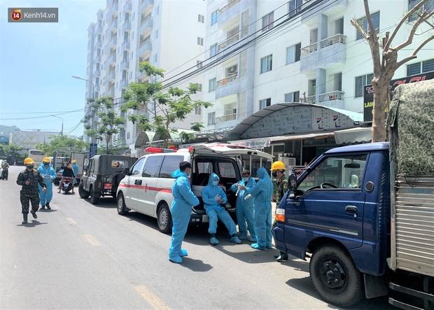 Đà Nẵng phong tỏa 1 chung cư, xét nghiệm 500 người vì liên quan đến ca dương tính với SARS-CoV-2 - Ảnh 4.