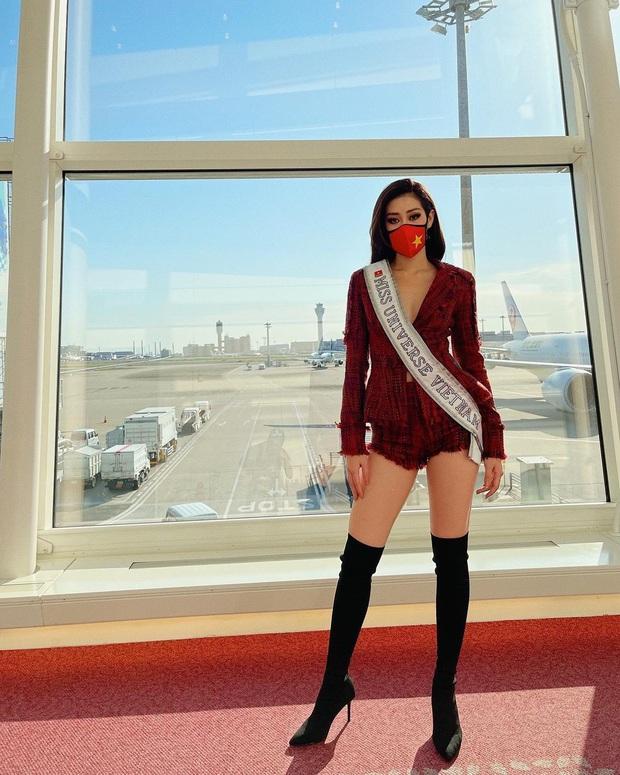 Netizen xỉu ngang với số outfit của Khánh Vân: 5 ngày mặc 8 set đẹp đỉnh, định san phẳng Miss Universe luôn hay gì? - Ảnh 3.