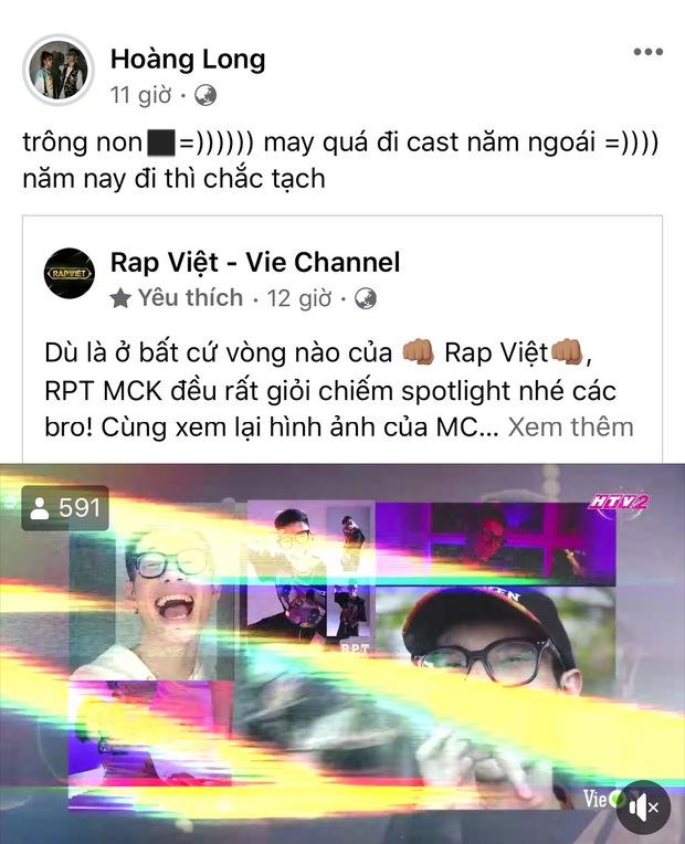 MCK rap cực chiến khi casting Rap Việt mùa 1 nhưng tự nhận bản thân trông non, năm nay đi thi chắc tạch - Ảnh 1.