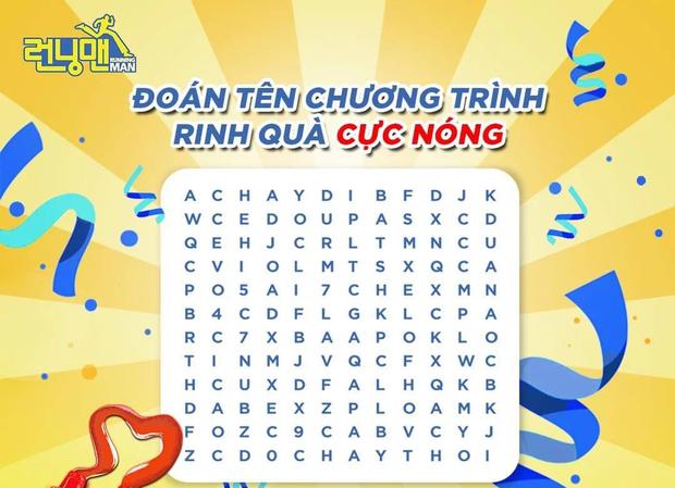 Loạn cào cào với tên Việt hóa của Running Man mùa 2: Chơi Là Chạy, Chạy Đi Chạy Thôi hay 7 Nụ Chạy Đi? - Ảnh 1.