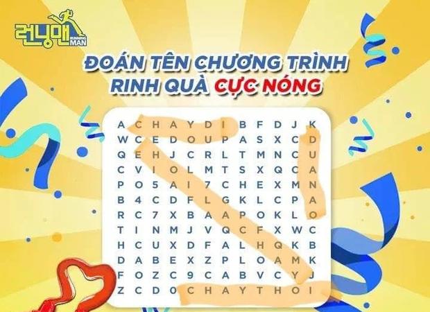 Loạn cào cào với tên Việt hóa của Running Man mùa 2: Chơi Là Chạy, Chạy Đi Chạy Thôi hay 7 Nụ Chạy Đi? - Ảnh 3.