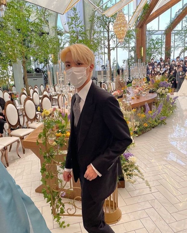 Đám cưới chị gái J-Hope: Dàn khách mời BTS visual đỉnh cao, riêng thành viên giàu nhất nhóm nhuộm tóc mới gây sốt - Ảnh 3.