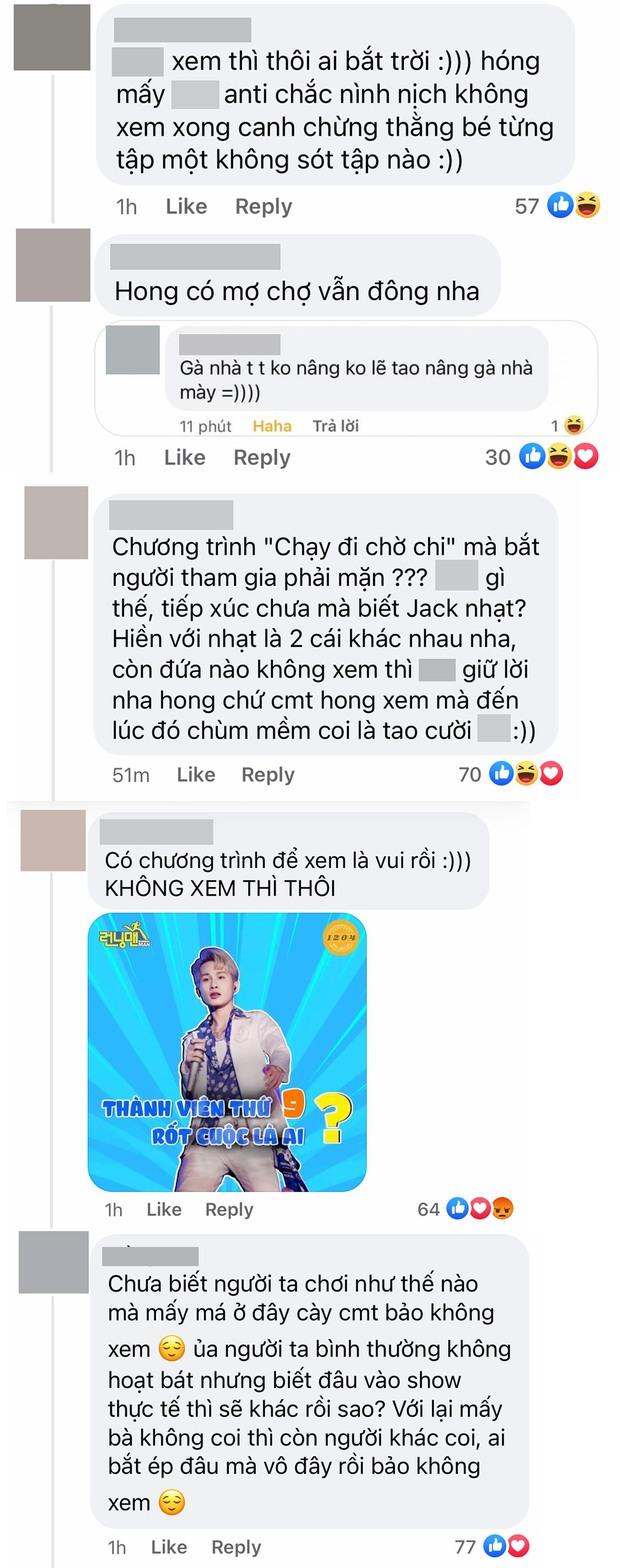 Netizen rủ nhau bỏ xem Running Man Việt mùa 2 khi hay tin Jack là trùm cuối - Ảnh 6.