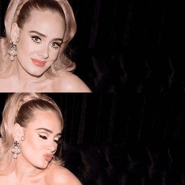 Adele gây sốc với gương mặt nhăn nheo chảy xệ, mắt đầy nếp nhăn do giảm cân đột ngột khiến người hâm mộ xót xa - Ảnh 5.