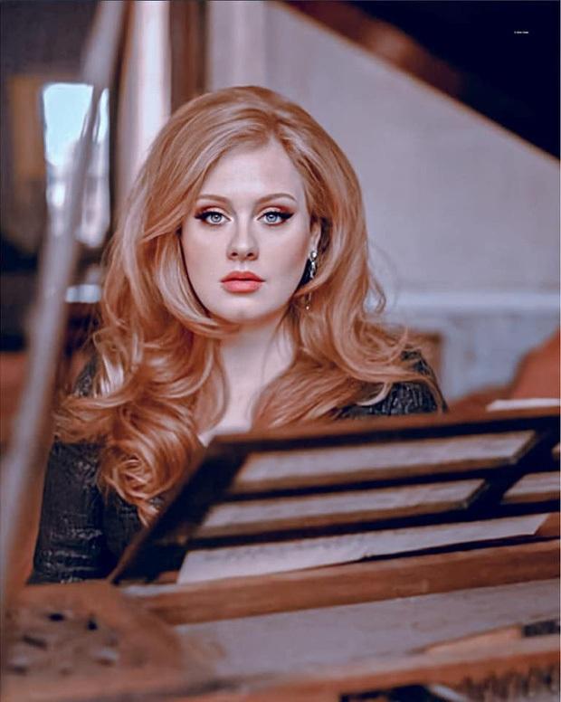 Adele gây sốc với gương mặt nhăn nheo chảy xệ, mắt đầy nếp nhăn do giảm cân đột ngột khiến người hâm mộ xót xa - Ảnh 8.