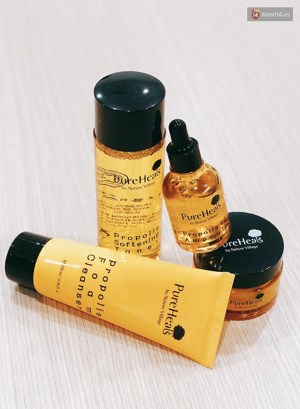 Bộ skincare keo ong nội địa Hàn hot hit: Dùng để biết thế nào là da căng bóng như gái Hàn - Ảnh 2.