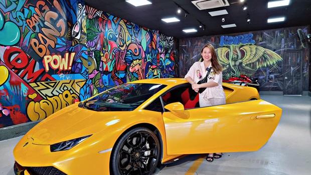 Vừa đổi màu, siêu xe Lamborghini Huracan LP610-4 hàng hiếm bất ngờ về tay nữ đại gia mỹ phẩm Bạc Liêu - Ảnh 1.