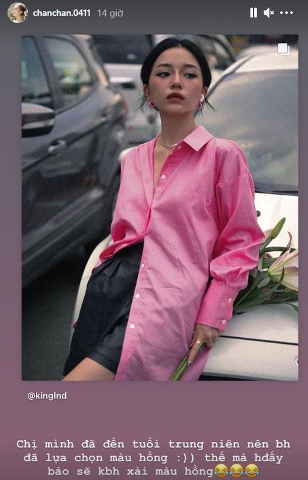 Linh Ngọc Đàm bị chê đã đến tuổi trung niên nhưng tất cả là do mẫu áo cô mặc - Ảnh 3.
