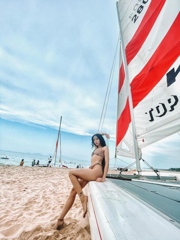 Đặng Tiểu Tô Sa tung loạt ảnh bikini mới đẹp nức nở, thần thái ngày càng xuất sắc - Ảnh 5.