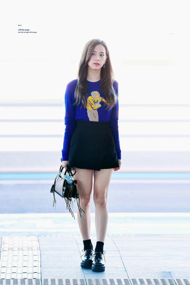 Không phải chân váy dài, đây mới là kiểu chân váy Jisoo mặc vì giúp ăn gian cả chục phân chiều cao - Ảnh 7.