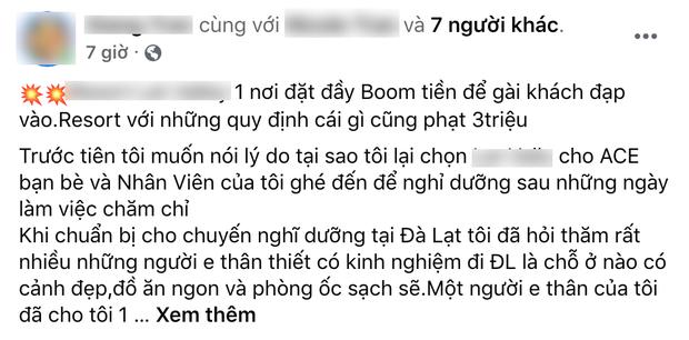 Sốc: Một resort ở Đà Lạt bị tố vì đặt ra đủ thứ quy định để phạt tiền, còn quay lại video lục lọi hành lý của khách? - Ảnh 1.