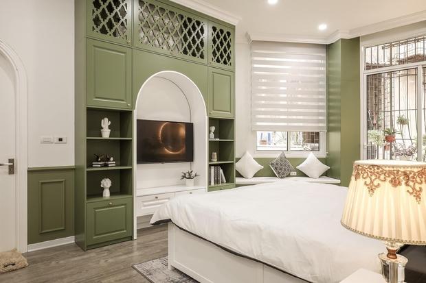 Vợ chồng mệnh Mộc xây nhà gần 2 tỷ trên mảnh đất cha ông để lại, ai cũng mê mẩn màu xanh olive phá cách - Ảnh 7.