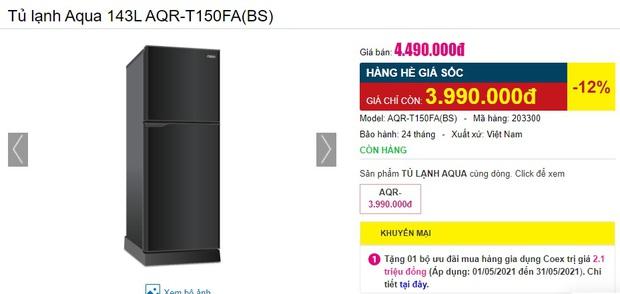 Tủ lạnh rẻ mà tốt đang sale mạnh đến 40%: Dưới 5 triệu cũng có bạt ngàn lựa chọn cho bạn - Ảnh 3.