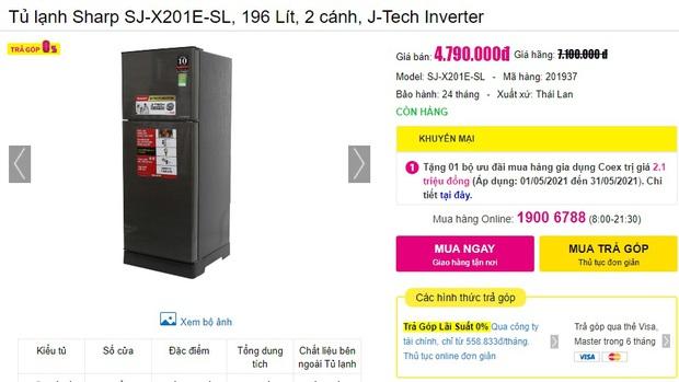 Tủ lạnh rẻ mà tốt đang sale mạnh đến 40%: Dưới 5 triệu cũng có bạt ngàn lựa chọn cho bạn - Ảnh 5.
