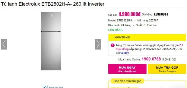Tủ lạnh rẻ mà tốt đang sale mạnh đến 40%: Dưới 5 triệu cũng có bạt ngàn lựa chọn cho bạn - Ảnh 9.