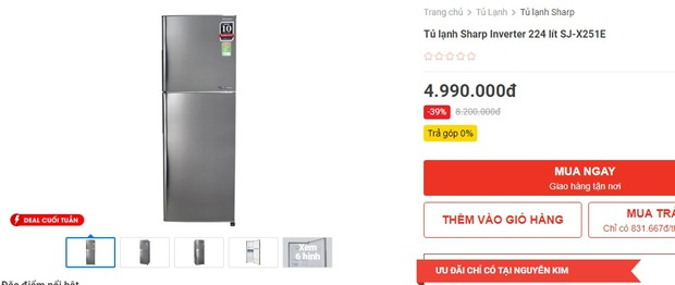 Tủ lạnh rẻ mà tốt đang sale mạnh đến 40%: Dưới 5 triệu cũng có bạt ngàn lựa chọn cho bạn - Ảnh 11.
