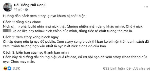Mẹo giúp Gen Z soi story Instagram người yêu cũ mà khum lo bị phát hiện - Ảnh 1.