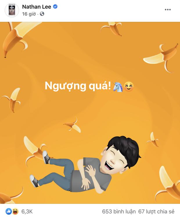 Bị netizen phát hiện bình luận dạo ảnh Sơn Tùng khoe xe chục tỷ, Nathan Lee ngượng chín mặt lên luôn Facebook thừa nhận 1 điều - Ảnh 5.
