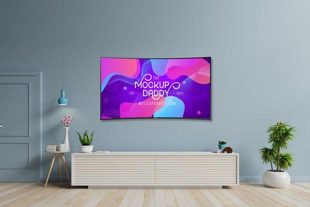 TV màn hình cong: Có xứng với cái giá đắt đỏ? - Ảnh 1.