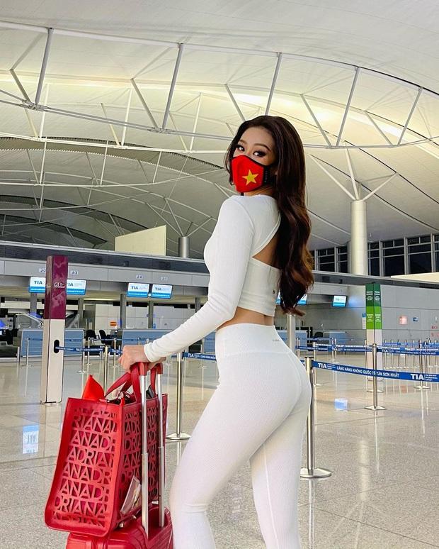 Khánh Vân được Miss Universe đăng hẳn clip catwalk lên Instagram chính thức, nhìn màn thể hiện đỉnh cao đã thấy đầy hứa hẹn - Ảnh 4.