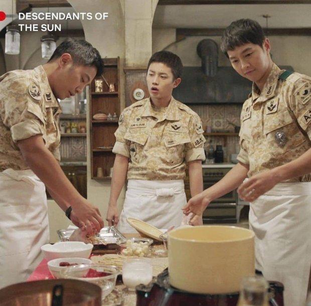 Ngất lịm với loạt ảnh khi nam thần phim Hàn vào bếp, thế này chị em lại phát phì mất thôi! - Ảnh 2.