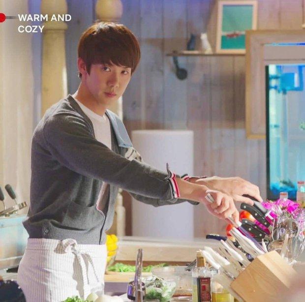 Ngất lịm với loạt ảnh khi nam thần phim Hàn vào bếp, thế này chị em lại phát phì mất thôi! - Ảnh 7.