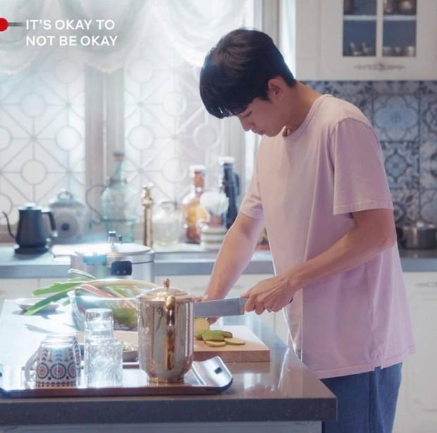 Ngất lịm với loạt ảnh khi nam thần phim Hàn vào bếp, thế này chị em lại phát phì mất thôi! - Ảnh 9.